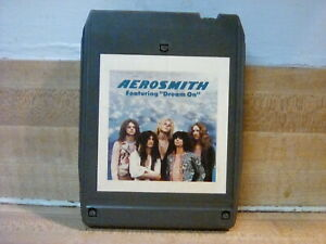 Areosmith self tilted 8 track tape new splice
