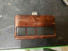2 x Burled Walnut Design LiftMaster 3 Btn Garage Door Remote Opener 973W (973Lm)