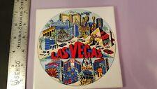 Collectible Souvenir Las Vegas Decorative Wall Hanging Ceramic Tile