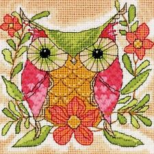 Dimensions Needlepoint Kit -  Whimsical Owl