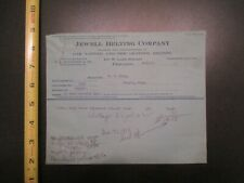 Jewell Belting Company Chicago Illinois IL 1912 Letterhead 435