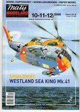 Card Model Kit – Westland Sea King Mk.41.