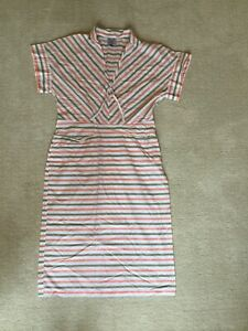 Thierry Colson Paris Dress L 100% Cotton