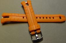 New Mens Timex T5K220 Ironman Triathlon 50 Lap 20mm Orange Sport Watch Band