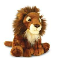 African Lion Soft Toy 30cm Keel Toys Plush Teddy Wild Jungle Cat