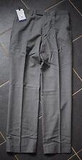 Bnwt Chester By Chester Barrie Tailored Soho Grey Sharkskin Trouser - UK 32R