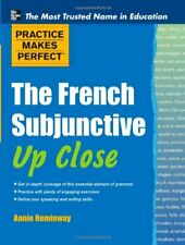 French Subjunctive up Close Paperback Annie Heminway