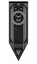 Game Of Thrones Night's Watch Jon Snow Stark Westeros Tournament Banner FGXTNW