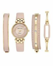 Anne Klein Women's Gift Set Charlotte Quartz Watch with Analogue Display and ...