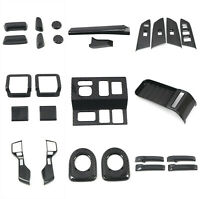 Carbon Fiber Accessories Interior Kit Cover Trims For Toyota Tundra 2014-2021