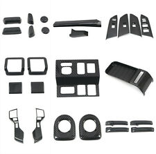 Carbon Fiber Accessories Interior Kit Cover Trims For Toyota Tundra 2014-2019