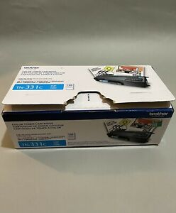 BROTHER TN-331C Cyan Toner Cartridge Open Box Sealed Bag - FAST FREE SHIPPING