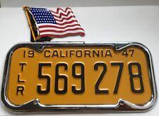 Model T Model A FORD 48 Star AMERICAN FLAG license plate topper Topper
