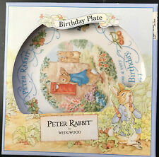 Plate Wedgewood 1997 Peter Rabbit Plate