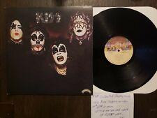 Kiss - S/T- Nm/Vg+ Glam Rock Japanese Vip-6326 1976 Insert Casablanca No Obi