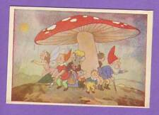 MUSHROOM GNOME AND MOUSE VINTAGE POSTCARD 21