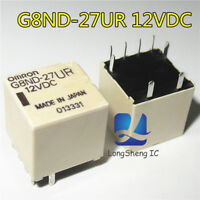 1PCS New Genuine for Omron G8ND-27UR 12VDC G8ND27UR12VDC Relay
