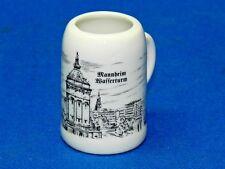 Vintage Mini German Beer Stein Mannheim Wasserturm
