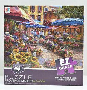 "MB Sam Park...""Provence Market""  EZ GRASP Lg X-Thick Pcs NEW NIB Puzzle"
