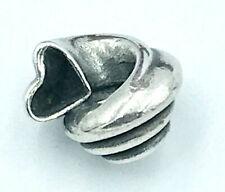 "Trollbeads ""Heart Conch"" Bead/Charm_925 sterling silver"
