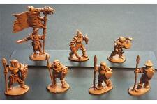 15mm Fantasy Undead Decian Armored Spearmen with Shields (16 figures)
