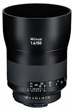 New Carl ZEISS Milvus 50mm f1.4 ZF.2 Lens for Nikon F DSLRs COSINA Made in Japan