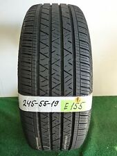 ★ Continental Cross contact LX Sport   245 55 19 103H ★ Used Tire 83% # E155