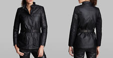 BARBOUR INTERNATIONAL Ladies' Outrider Waxed Cotton & Leather Jacket