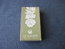 Vintage Sortilege Le Galion France Paris flacon sac perfume box