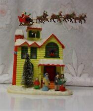 Retired Enesco Animated Small World Of Music Box Mice Holiday Decoration