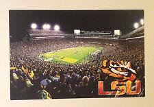 "LSU Tigers FATHEAD Death Valley MURAL Tiger Stadium 18.5"" x 12"" Must See NCAA"