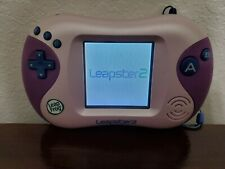 LeapFrog Leapster 2 Pink Purple Handheld Learning Game System