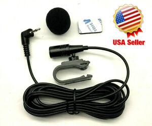 2.5mm External Mic for Pioneer Car Stereo Radio Microphone DVD Navigation