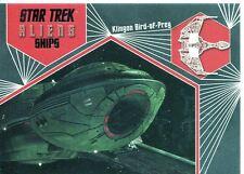 Star Trek Aliens Chase Alien Ships S02 Klingon Bird of Prey