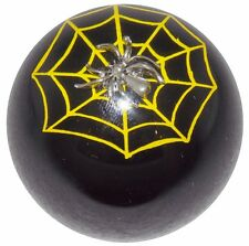 Black Spider & Web shift knob M10x1.50 thrd