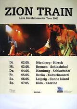 "ZION TRAIN TOUR POSTER / KONZERTPLAKAT ""LOVE REVOLUTIONARIES TOUR 2000"""