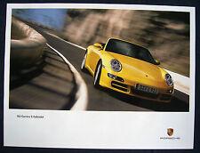 PORSCHE OFFICIAL 911 997 CARRERA S CABRIOLET SHOWROOM POSTER 2005 - 2008