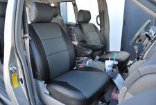 TOYOTA SIENNA 2004-2010 IGGEE S.LEATHER CUSTOM SEAT COVER 13 COLORS AVAILABLE