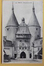 Tarjeta postal antigua NANCY - Puerta de el craff
