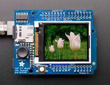 "Adafruit 1.8"" 18-bit Color TFT Arduino Shield w/microSD and Joystick"