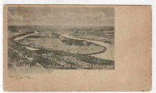 Moccasin Bend Lookout Mountain Battlefield Tennessee 1905c postcard