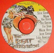 FILM NOIR 283: THE BEAT GENERATION (1959) Haas, Steve Cochran, Van Doren