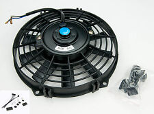 "Electric Radiator Cooling Fan 9"" Push/Pull Universal Straight 5480 With Fittings"