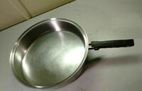 "Steelco Multi-Ply Stainless 10"" Skillet Egg Stir Fry Saute Pot Saucepan No Lid"