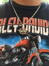 """2 BIKER NECK CHAINS HARLEY STYLE STAINLESS STEEL 18"""" CHAIN AND 24"""" CHAIN"""