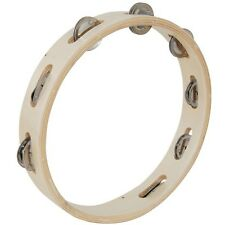 """Chord 10"""" wooden ring tambourine with 8 jingles New Year sale price"""