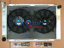 Aluminum Radiator & Fans HOLDEN WB STATESMAN UTE SEDAN 253 & 308 V8 1980-1984