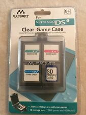 Merkury Innovations Nintendo DSi Clear Game Case NEW