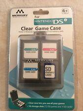Merkury Innovations Nintendo DSi Clear Game Case NEW