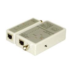 Eagle Probador De Cable De Red rj45 cat5e 6, 7 + Tester Bnc